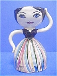 Vintage Lady Sculptural Pottery