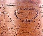 Copper  Map - Huntington Shire - England