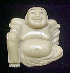 Jade Colored Buddha Sculpture