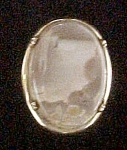 Click to view larger image of Picture Stone Pin w/Gold-Toned Setting (Image1)