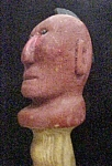 Click to view larger image of Vintage Hand Carved Walking Stick - Folk Art (Image1)