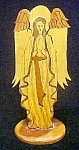 Click to view larger image of Wood Angel Entitled - Reverence - Signed (Image1)