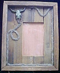Western Style Frame With Antique Look