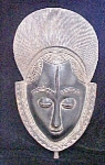 Click to view larger image of A Fine Baule Mask - African (Image1)