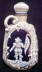 Click here to enlarge image and see more about item AA522: Musical Pottery Decanter - Elaborate Design