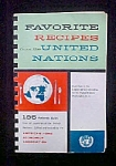 Click here to enlarge image and see more about item AA523: Favorite Recipes From The United Nations