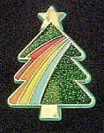 Click here to enlarge image and see more about item AA527: Hallmark Christmas Tree Pin - 1985