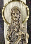 Click to view larger image of Vintage Metal Italian Figure of Jesus (Image1)