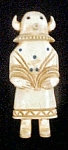 Click here to enlarge image and see more about item AA562: Native American Carved Mystery Figure