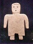 Click to view larger image of Primitive Carved Folk Art Wooden Figure (Image1)