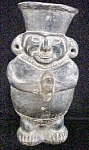 Click to view larger image of pre-Columbian Style Black/Grey  Figure (Image1)