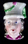 Click here to enlarge image and see more about item AA602: Antique Porcelain Doll's Head - Australian