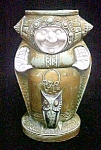 Click to view larger image of Vintage Schafer Vater Monk w/Owl Vase (Image1)