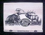 Click here to enlarge image and see more about item AA624: Montana Centennial - Marble Etched w/Wildlife