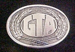 Click to view larger image of GTA First Edition Metal Belt Buckle (Image1)