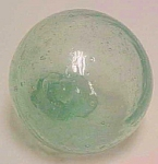 Click here to enlarge image and see more about item AA748: Vintage Glass Fishing Float - Vancouver