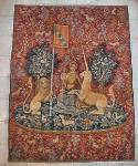Click to view larger image of  Lady and Unicorn Tapestry - Represents Sight (Image2)