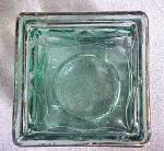 Click to view larger image of Chunky Art Glass Candle Holder w/Angel Design (Image3)