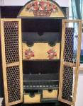 Click to view larger image of Mexican Wooden Letter Box - Folk Art (Image2)