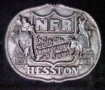 Click here to enlarge image and see more about item AA986: Hesston National Finals 25th Rodeo