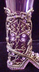 Click to view larger image of Be-Jeweled Boot w/Glass Vase (Image6)