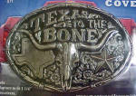 Click to view larger image of Truck Hitch Cover - Texas To The Bone (Image1)