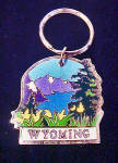 Grand Teton, Wyoming Souvenir Key Chain