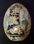 Click to view larger image of Satsuma Porcelain Hand Painted Egg (Image4)