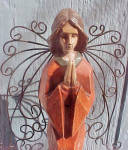 Angel With Wire Wings