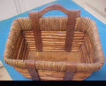 Click here to enlarge image and see more about item AAA1460: Multi-Textured Basket