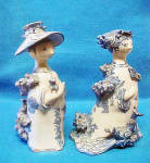 Click to view larger image of Pair of Bjorn Wiinblad Figures - Signed/Dated (Image2)