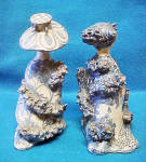 Click to view larger image of Pair of Bjorn Wiinblad Figures - Signed/Dated (Image3)