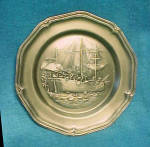 Click here to enlarge image and see more about item AAA1639: American Centennial Boston Tea Party Plate
