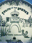 Click here to enlarge image and see more about item AAA1678: South Carolina - South of the Border Plate