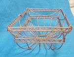 Click to view larger image of Wire Rectangular Bowl - Unique (Image4)