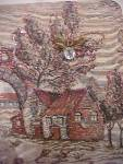 Click to view larger image of Scenic Tapestry Handbag w/Accents (Image5)