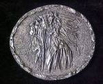 Click to view larger image of Vintage Indian Profile Belt Buckle (Image1)