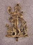 Click to view larger image of Brass Old Fashioned Decorative Hook (Image1)