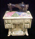 Click to view larger image of Ceramic Sewing Machine Pin Cushion (Image1)