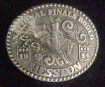 Click here to enlarge image and see more about item AAA557: National Finals Rodeo - Hesston NFR 1984