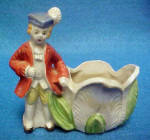 Click to view larger image of Boy and Girl Open Ceramic Salt Cellars (Image3)