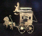 Click to view larger image of Horses and Coach Music Box (Image1)