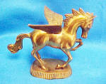 Click to view larger image of Pegasus Mythical Flying Metal Horse (Image2)