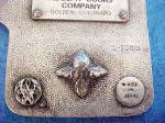 Click to view larger image of Coors Premium Pewter Colored Belt Buckle (Image4)