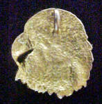 Click to view larger image of Metal Eagle's Head Pendant/Charm (Image2)