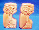 Click to view larger image of Ceramic Owl Salt and Pepper Shakers (Image3)
