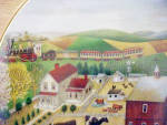 Click to view larger image of American Folk Art - Country Journeys Plate (Image3)