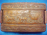 Click to view larger image of Western SyrocoWood Valet Box - Vintage (Image1)