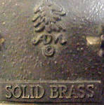 Click to view larger image of Brass Horses Head Belt Buckle - Vintage (Image4)