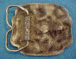 Click to view larger image of Forget-Me-Not Metal Belt Buckle (Image2)